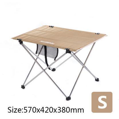 Table à pique nique camping en tissus - Taille S 57cm*42cm*38cm, kaki