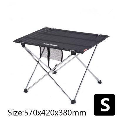 Table à pique nique camping en tissus - Taille S 57cm*42cm*38cm, noir