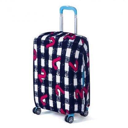 housse de valise modele digital