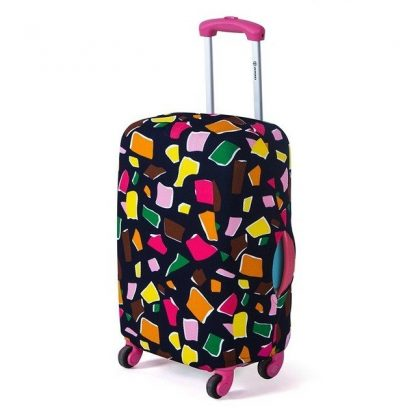 housse de valise modele polygon