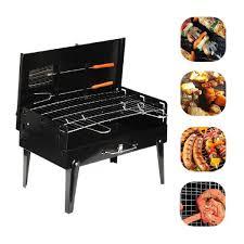 Barbecue en acier inoxydable noir (2)