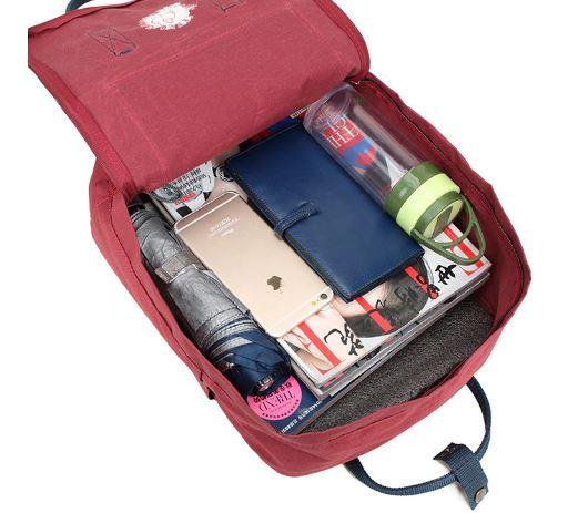 INTERIEUR SAC - Kanken classique sac à dos pour étudiants differentes colories