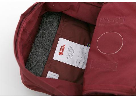 etiquette interieure - Kanken classique sac à dos pour étudiants differentes colories