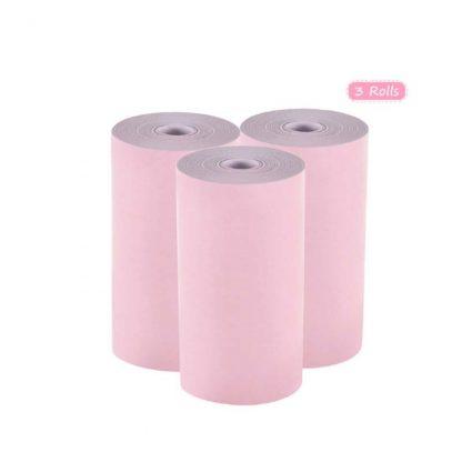 H104d0acf3715433089a21df91bbee7a42 416x416 - Peripage A6: 3 rouleaux de papier thermique colorés 57*30mm