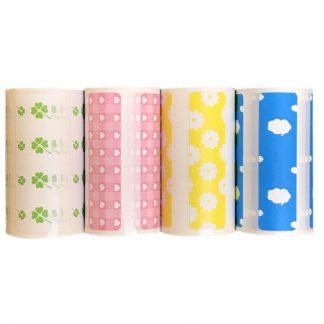 H20af8047a541444f929f751f6865ea0bQ 1 324x324 - Peripage A6: 3 Rouleaux de papier autocollant thermique étiquette - 3 rouleaux couleurs aléatoires