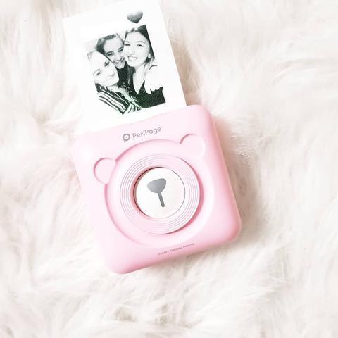 PERIPAGE A6 IMPRESSION PHOTO - PeriPage A6 mini imprimante mobile