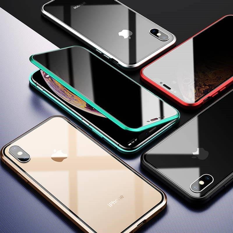 coque iphone magnetique differentes couleurs - Coque iphone magnétique anti vol de données