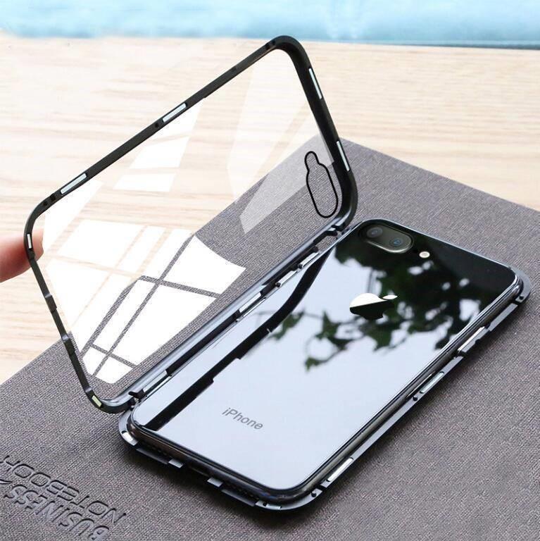 coque iphone magnetique ouverte - Coque iphone magnétique anti vol de données